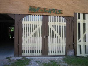 Eingang Bio Hofverkauf