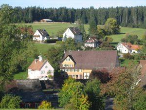 Hof Nr. 13 mit Rathaus