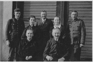 Familienfoto Bohnet 1944