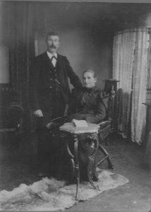 Hochzeitsfoto Bohnet 1906