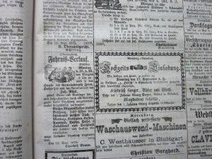 Fahrnissverkauf 1879