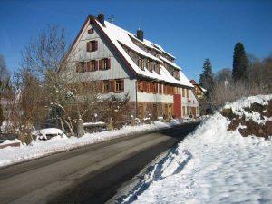 """Bauernhaus Nr. 20, heute """"Die Werkstatt"""""""
