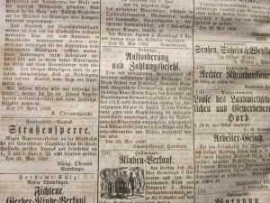 Alimente Forderung 1869