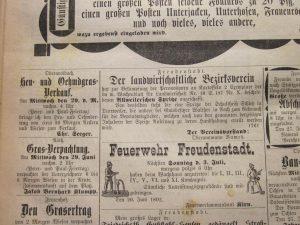 Heuverkauf 1892