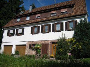 Handwerkerhaus Nr. 23 vom Säger an der Sägemühle erbaut