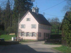 Rathaus und Schulhaus Nr. 17, heute Ferienwohnung