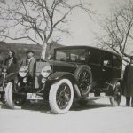 Der erste Mercedes der Familie Hamma