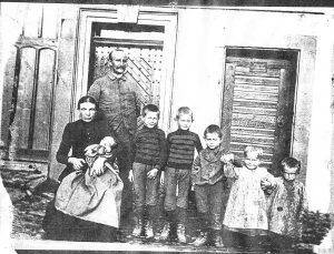 Familie Johann Friedrich Kappler um 1907