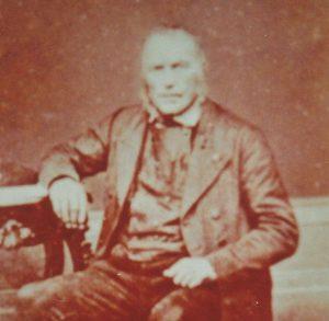 Johann Hofer aus Grüntal um 1860