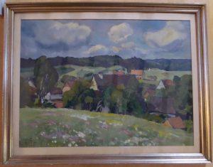 Kucher Gemälde Schneiders Haus