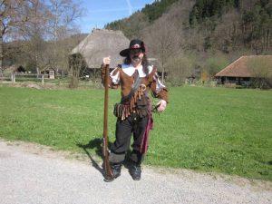 Landsknecht mit Büchse
