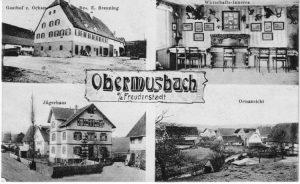 Spritzenhaus auf Ansichtskarte zum Ochsen