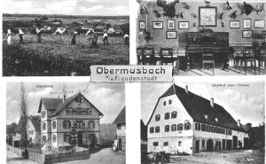 Ansichtskarte Zum Ochsen  1923