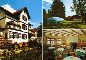 Ansichtskarte Auerhahn mit Hallenbad 1972
