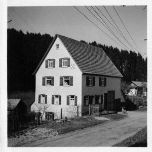 Haus Nr. 21 um 1958