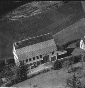 Luftaufnahme 1958 Haus Nr. 20