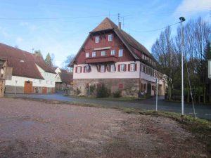 Ehemaliger Gasthof zum Ochsen um 2016