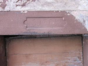 Türsturz Backhaus