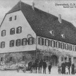 Postkarte vom Gasthaus zum Ochsen