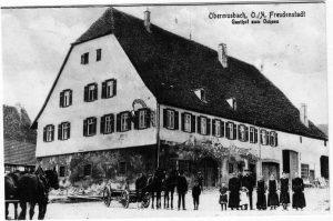 Gasthof zum Ochsen um 1900