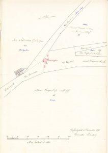 Lageplan Spritzenhaus 1898