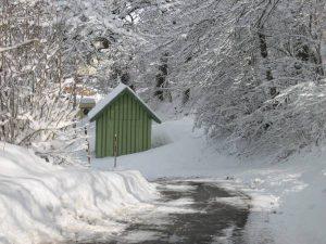 Waag-Häusle im Winter