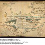 Weilerwald-Karte von 1619