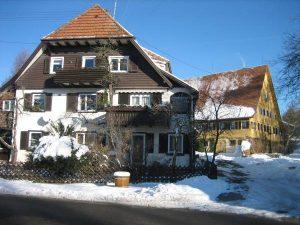 Haus von Christian Kappler im Winter