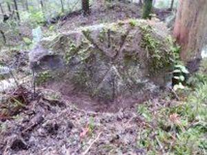 Grenzstein mit Hofmarke