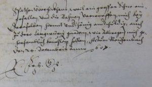Vermögensliste Obermusbach 1607