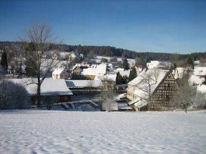 Obermusbach im Winter