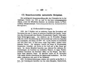 Artikel-Ausschnitt über ein Erdbeben im Schwarzwald