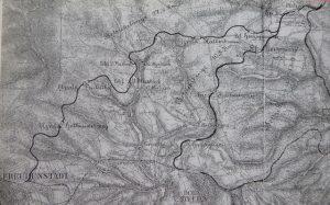 Übersichtkarte der gesamten Strecke
