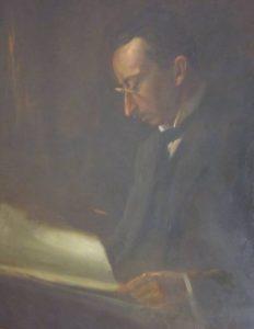Manfred Eimer, Porträt im Heimatmuseum Freudenstadt