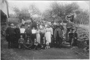 Familie Hamma mit Musbacher Bürgern