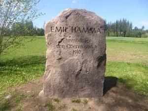 Gedenkstein Emil Hamma