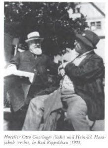 Otto Göhringer und Heinrich Hansjakob