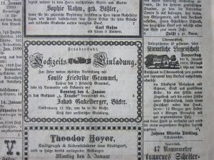 Gant-Anzeige im Grenzer