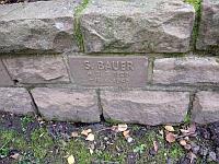 Grabstein G. Bauer