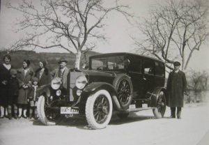 Das erste Auto 1923