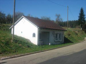 Brunnenhaus der alten Wasserversorgung der Gemeinde Aach