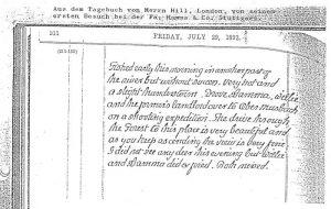 Tagebuch Hill London