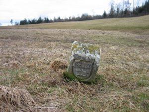 Grenzstein von 1606 etwas näher