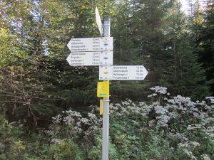 Schwarzwaldverein Wegweiser Schwenke