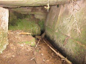 Das Innere vom alten Kindlesbrunnen