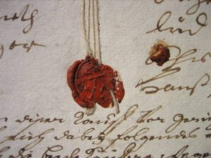 Siegel Adam Mast 1752