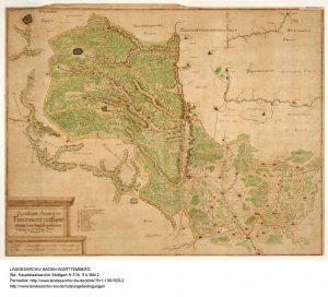 Freudenstädter Forstkarte von 1712
