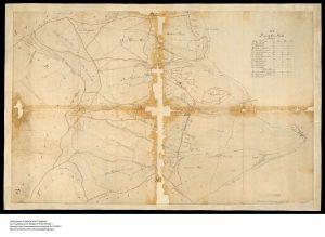 Forstkarte von Geometer Kuehle 1814