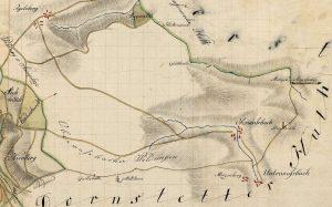 Auszug Forstkarte Igelsberger Hut 1816