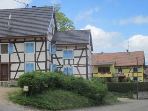 schön renovierte Fachwerkhäuser